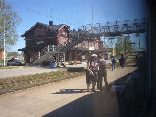 シェレフテオ~キルナ(Gallivare駅)