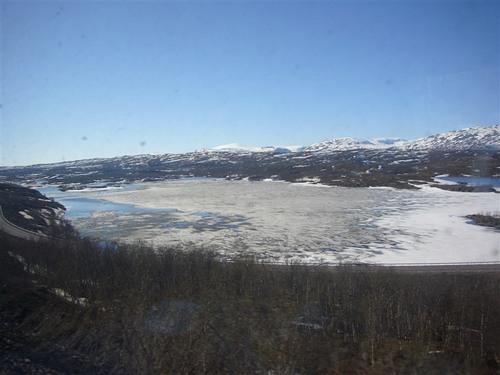 アビスコ~ノルウェー国境へ