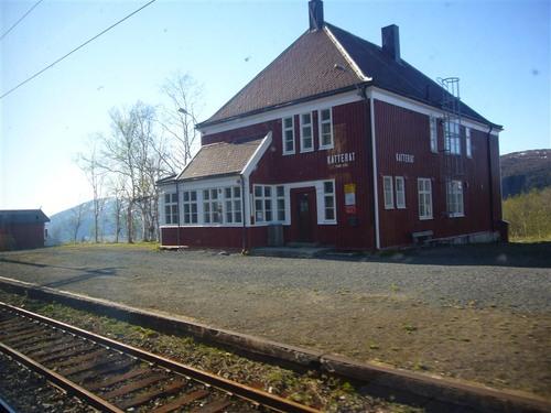 ノルウェー国境~ナルヴィク(Katterjakk駅)