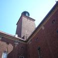市庁舎の塔