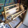 ある納屋で見つけた機織機