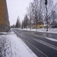 初雪のKanalgatan