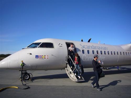 シェレフテオへの飛行機