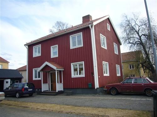 Falun redの家