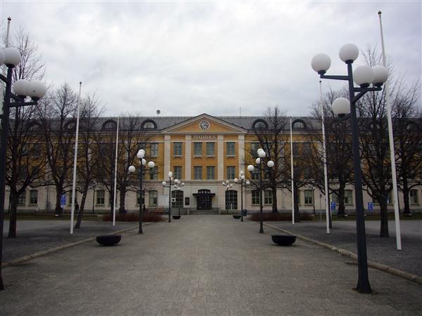 ウメオ市庁舎
