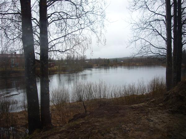 シェレフテオ郊外を流れるビスケ川