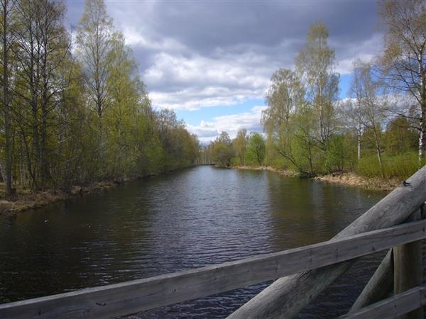 シェレフテオ川の支流