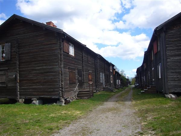 シェレフテオ教会村(Bonnstan)