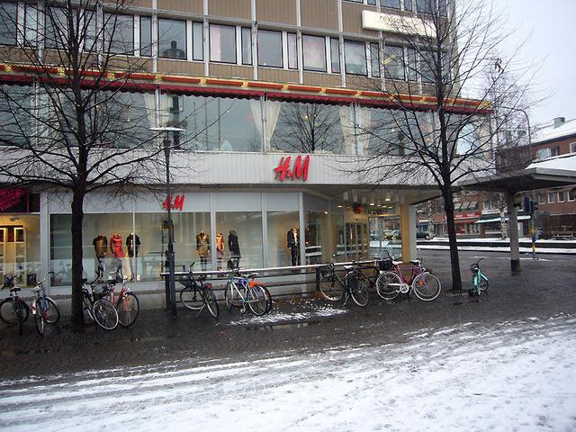 街角のH&M