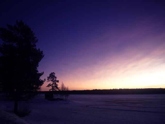 凍った湖2